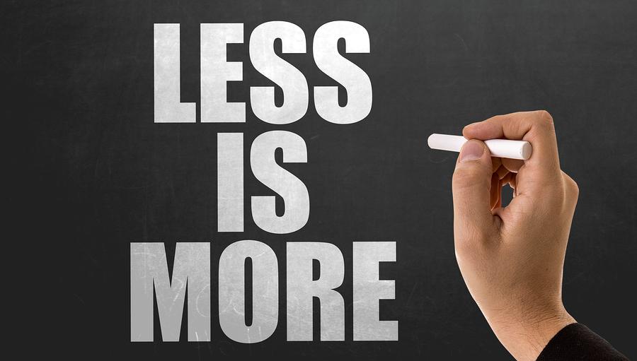 Speak Spanish by doing Less